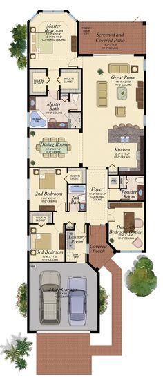 CAYMAN/452 Floor Plan