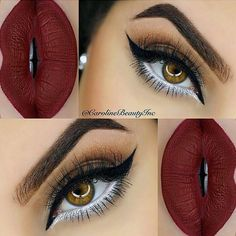 Variations Of Burgundy Lipstick Matte for All Skin Tones ★ See more: http://glaminati.com/burgundy-lipstick-matte-variations/