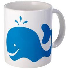 Whale Mug on CafePress.com