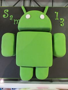 Android robot cake | Flickr - Photo Sharing!