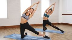 10-Minute Sexy Back and 6-Pack Abs Workout | Class FitSugar
