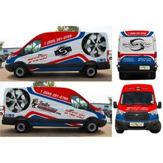 All Over Ford Transit Cargo Extended Wheel Base, High Roof, Van Wrap Design Ontwerp door Mr. Rious