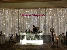 Led Backdrop Lights. Led Backdrops Drapes With Voile Organza  Wide By 10 Ft Long Complete Set