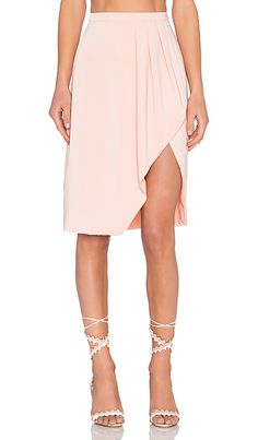 Lovers + Friends x REVOLVE Coquette Skirt in Blush | REVOLVE