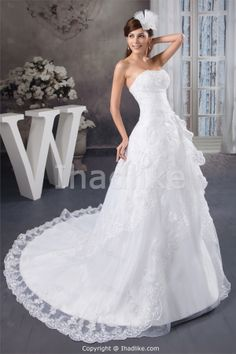 Wonderful A-Line Soft Sweetheart Summer Wedding Dresses 2013 -Wedding Dresses