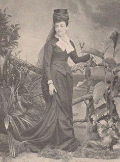 Baronesa de Loreto - Amandinha Paranaguá, 1884