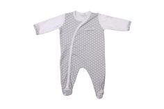 Poogy Bear Grey Polka Dot Side Opening Baby Grow Baby Grows, New Parents, Polka Dot, Rompers, Range, Bear, Grey, Summer, Clothes