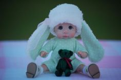 OOAK Polymer Clay Baby June by Tatyana