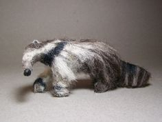 Giant Anteater  wild animal 12th scale dollhouse by CWPoppets