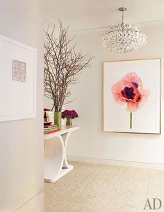 pretty office entryway