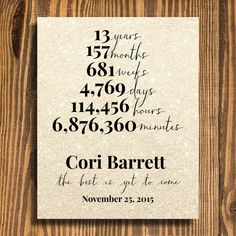 Retirement Gift   Years at Company   Gift for Boss   Personalized Retirement Gift   The Best is Yet to Come by cardsbycaldwell on Etsy