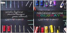 MiniFactory: Parcheggio Macchine Associazioni cromatiche