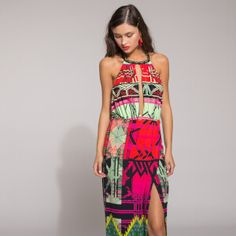 Now on eboutic. Green Spring Dresses, Red Indian, Indian Patterns, Pink Flowers, Purple, Shirts, Color, Clothes, Beauty