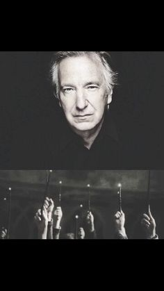 #ripalanrickman you'll always be in our hearts. Wands up for you