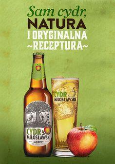 Na świeże zbiory musimy jeszcze poczekać, ale na aromatycznie jabłkowy Cydr Miłosławski nie trzeba :)