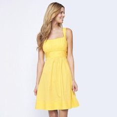 Jolie Empire Waist Poplin Dress    available at sears.ca