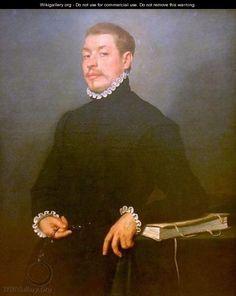 Portrait of a Scholar - Giovanni Battista Moroni