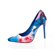 Zapatos Mujer Sexy Floral Print Heels Sapatos Pumps. Gender: Women   Item Type: Pumps   Pump Type: Basic   Lining Material: PU   Model Number: ASPU38   Fashion Element: Flower   Occasion: Wedding   Fit: Fits true to size, take your normal size   Heel Type: Thin Heels   Closure Type: Slip-On   Insole Material: Rubber   With Platforms: No   Style: Sexy   Upper Material: Silk   Toe Shape: Pointed Toe   Heel Height: High (5cm-8cm)   Outsole Material: Rubber   Brand Name: YJSFG HOUSE   Season:...