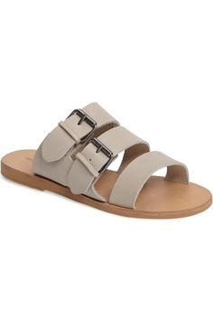 Shop Women's Treasure & Bond Gray size 7 Shoes at a discounted price at Poshmark. Description: Nordstrom Treasure & Bond Sandals in grey leather. Leather Slippers For Men, Mens Slippers, Bags Online Shopping, Kinds Of Shoes, Leather Sandals, Leather Men, Me Too Shoes, Fashion Shoes, Shoes Men