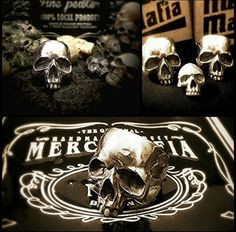 Cranial Supperiror Ring Pewter material Ready stock and ready custom