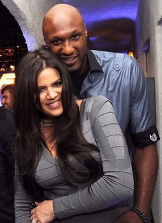 Khloe and Lamar:) even tho he isn't the cutest fish in the sea; them together are the Cutest Celebrity Couple!