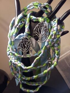 Silver  Tree Of Life Wedding Hand Fasting/ Binding Cord ~  Nature ~ Lord of the Rings