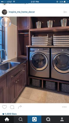 A beautiful laundry room -- someday...