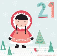 Day 21 Christmas advent, by Faye Buckingham