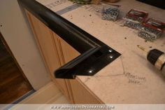concrete counter solutions -- i think I'll use this product for my counters! DIY concrete countertops 13