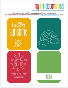 Free Printable Journal Cards @ AVirtuousWoman.org #projectlife