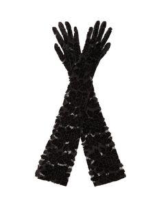 "20/"" Black Vampiress Vampire Elbow Long Gloves Gothic Adult Costume Accessory NEW"