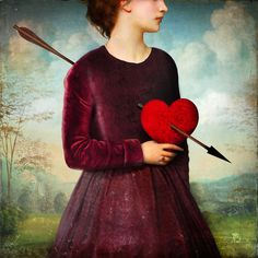 Poster | THE HEARTACHE von Christian Schloe | more posters at http://moreposter.de