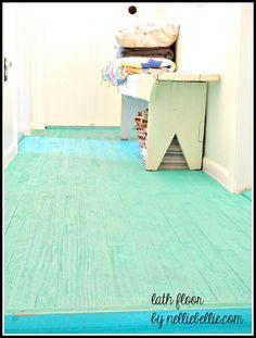 NellieBellie: diy lath floor tutorial. create this darling floor for cheap cheap cheap!