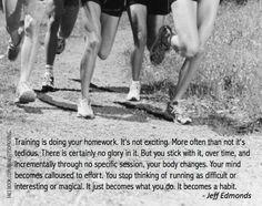 Make it a...HABIT! ... #Running #Motivation