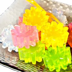 Okay, so jello candies are perhaps the lazy man's treat, but they are fun to make once in a while.