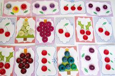 #buttons #craft by www.cocoflower.net - http://www.etsy.com/shop/cocosupplies