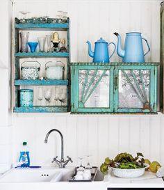 EN MI ESPACIO VITAL: Muebles Recuperados y Decoración Vintage: Una cocina diferente { A different kitchen }