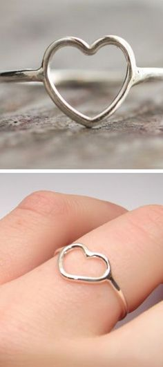 Perfect father daughter promise ring!!