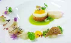 Food Plating, Plating Ideas, Molecular Gastronomy, Savoury Dishes, Food Presentation, Food Pictures, Food Styling, Gourmet Recipes, Food Art