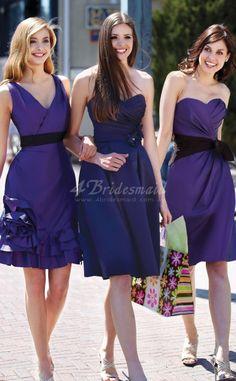 A-line Bridesmaid Group Dresses(BD046)