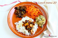 After a short trip to Hong kong and had outside food for 5 days, we all craved for a home made food. This arai puli kuzhambu is one of my… Carrot Salad, Lunch Menu, Chow Chow, Food To Make, Cravings, Curry, Good Food, Tasty, Favorite Recipes