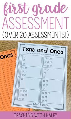 I created this product to use at the beginning of the year to see where my students are. It is a collection of 27 assessments to gather information and drive your instruction. First Grade Assessment, First Grade Curriculum, Kindergarten Homeschool Curriculum, Reading Assessment, 1st Grade Math, Kindergarten Assessment Checklist, Kindergarten Math, Grade 1, Preschool