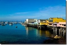 Old Fisherman's Wharf is a tourist hot spot for free chowder samples, whale watching tours, and viewing sea lions and otters.