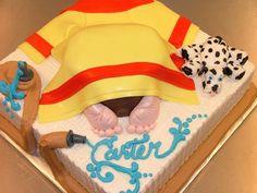 Image result for firefighter cake ideas
