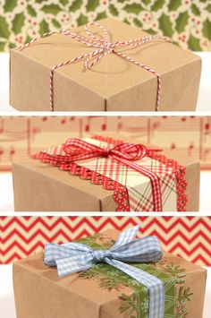 craft boxes made out of a paper sack and we all have these laying around...