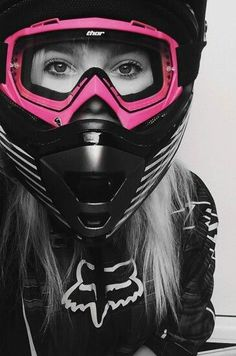 No you can't ride it ; I ride my own, love the biker community and wanted to dedicate a page just to the biker. Lady Biker, Biker Girl, Fille Et Dirt Bike, Dirt Bike Gear, Dirt Biking, Motocross Girls, Triumph Motorcycles, Touring Motorcycles, Biker Chick
