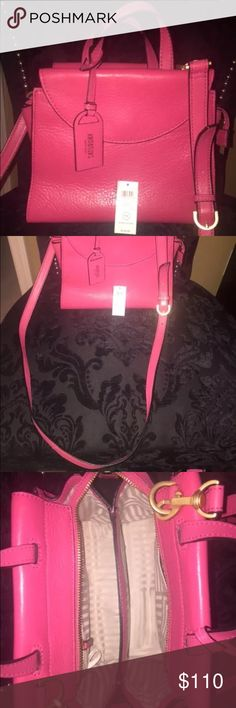 New Kate spade Saturday cross body purse pink mini New but tags are not attached as seen on the picture. Pink leather cross body high quality leather 100% authentic Kate Spade Bags