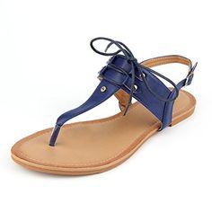 ef927e37917dea MuDan Women T-Strap Casual Wear Gladiator Slingback Flit Flops Sandal B(M)  US