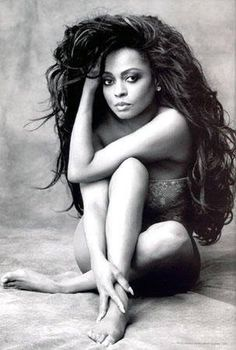 Diana Ross photo session by Albert Watson in 1993 for the 'Forever Diana' box set.