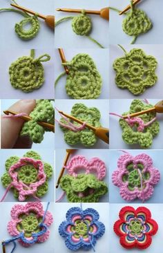 DIY: Crochet Paso a Paso – 25 Instrucciones con Imágenes! Welcome to the knitting techniques page, ladies. But I don't know if you want to learn knitting as well. Crochet Diy, Love Crochet, Crochet Gifts, Crochet Flowers, Crochet Hello Kitty, Crochet Motif Patterns, Step By Step Crochet, Crochet Buttons, How To Start Knitting
